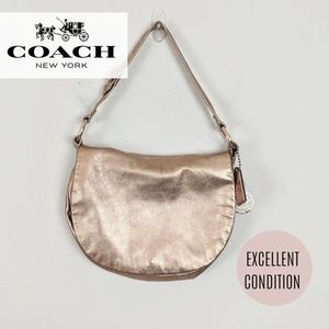 Coach • Bronze Rose Gold Purse [Bags]